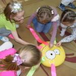 Занятия в частном детском саду в Центре развития ребенка в Гродно Зеленая Дверца