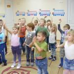 Занимаеися вместе в частном детском саду в Гродно