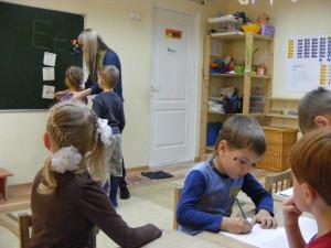 Как подготовить ребёнка к школе: обучение письму, занятия в центра развития Зеленая дверца